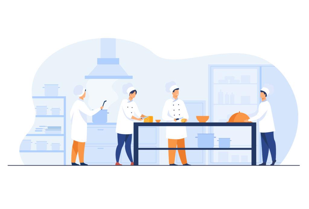 食品業者の画像