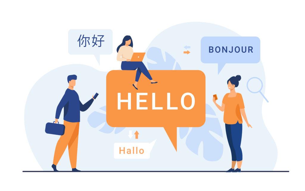 オンライン翻訳の画像